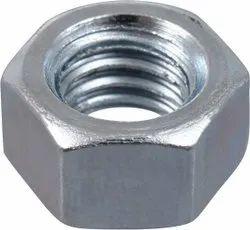 Steel Hexagonal SS316 Hex Nuts, Size: M6- M50