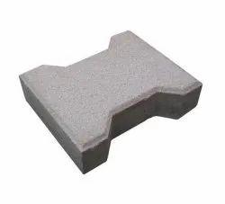 Solid Concrete Interlocking Bricks, For Floor, Size: 10x10 Inch