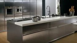 Classic Stainless Steel Modular Kitchen, in India