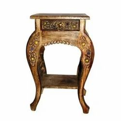 Wood Brown Antique Table