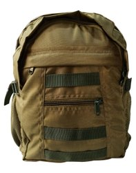 Nylon 1600 Denier Light Green 40 L Survivor Gear Backpacks Bag, Number Of Compartments: 3