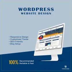 Wordpress Website Designing Service, With Online Support