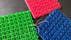 Available In Many Colours PVC Turf Mat Rolls, Thickness: 10 MM