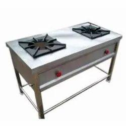 SS Rectangular Cooking Range