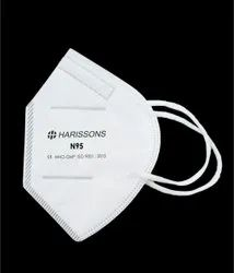 Harissons 5 layered N95 Disposable Face Mask, Certification: Ce - Who - Gmp