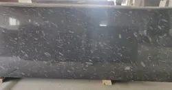 Black Pearl Granite Slab, For Flooring, Thickness: 17 mm