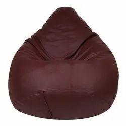 XL Maroon Bean Bag