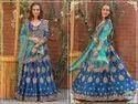 Peafowl Vol 63 Chennai Silk Resham Zari Stone Work Bridal Lehenga Choli Collection Catalog