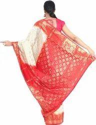 6.3 m (with blouse piece) Festive Wear Woven Banarasi Silk Blend Saree