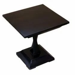 Black Cafeteria Table, Seating Capacity: 1