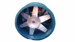 240v Ac Cast Iron Axial Flow Fan, For Industrial, Impeller Size: 1500mm