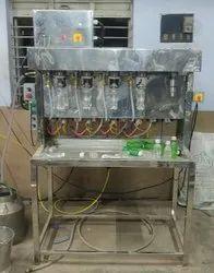 4 Head Soda Filling Machine / PET Bottle filling machine / Soft drink filling machine