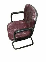 Fabric Visitor Office Chair, Brown