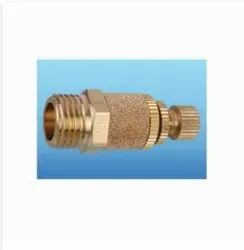 Brass Round Pneumatic Cylinder silencer, For Industrial
