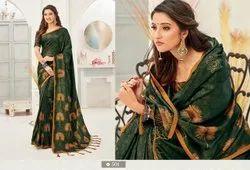 Style Well Launching Aakruti Vol 2 501-508 Series Kanjivaram Silk Digital Print Saree Wholesaler