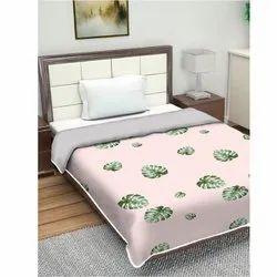 Leaf Printed Cotton Dohar Blankets