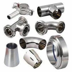 Dairy And Pharma Ss Valves & Fittings, Material Grade: SS304