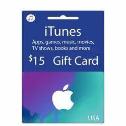 Itunes US Dollar Gift Card - 15 Dollar