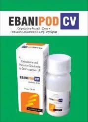 Cefpodoxime 100mg  Clavulanic Acid 62.50mg/5ml Dry Syp