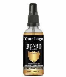 White Label Beard Growth Oil,  Hair Growth Oil 50ml