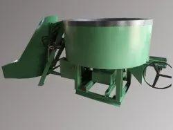Hydraulic Hooper And Hydraulic Door Open Concrete Pan Mixer Machine