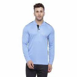 Plain Polyester Dry Fit Sports T Shirts, Size: M-XXL