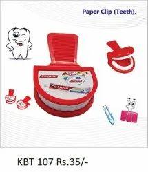 Paper Clip Teeth