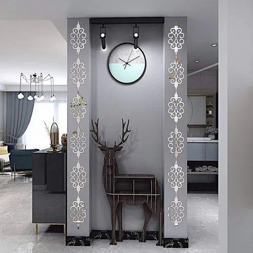 Kc Decor Acrylic Mirror Wall Stickers, Decorative Wall Mirror Stickers