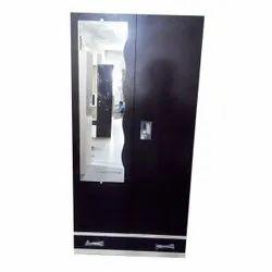 Black Alwin Lock Domestic Steel Almirah