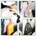 Maitri Metal Car Backseat Head Rest Hook/hanger, For Hanging