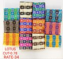 Lotus Jacquard Blouse Fabric