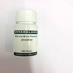 Orvabalance For Low Blood Pressure, 100 Pills, Non prescription