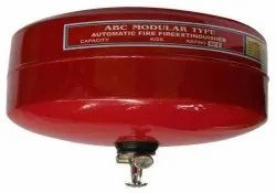 Mild Steel ABC Modular Type Automatic Fire Extinguisher, For Office, Capacity: 5Kg