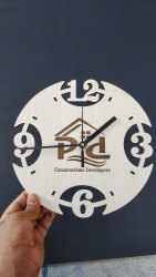 Analog Promotional Wooden Clock