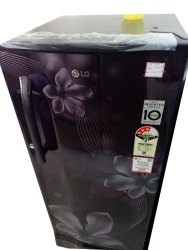 3 Star Purple LG Single Door Refrigerator, Capacity: 200 L
