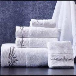 Printed Cotton Bath Towel