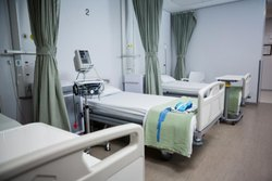 Hospital Plain Cotton Bed Sheet