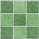 Vitrified Parking Green Design Tiles, Size: Medium, Tile Size: 40 * 40 In Cm