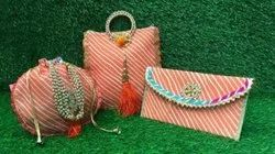 fabric Embroidered Women Hand Bag