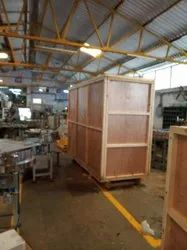 Heavy Machinery Plywood Packaging Box, Size(LXWXH)(Inches): L 5 X W 3 X H 7 Feet, Weight Holding Capacity(Kg): 301-1000 Kg