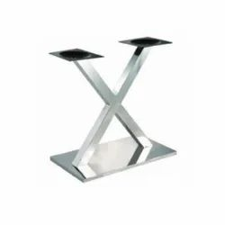 Stainless Steel Cross Leg Canteen Table