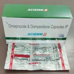 Omeprazole 20mg + Domperidone 10mg Capsule
