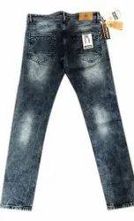 Casual Wear Faded Comfort Fit Men Denim Jeans