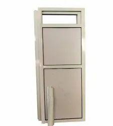 Plain 7 Mm Rectangular Aluminium Door