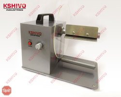 Kshivo Mild Steel Label Winder Rewinder, For Industrial, Production Capacity: 1000