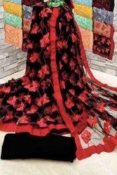 Designer Net Butterfly Saree