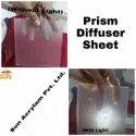 Prism Diffuser Sheet