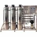 Commercial Water Softening Plant
