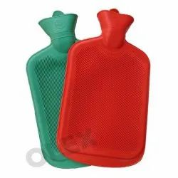 Rectangular Rubber Hot Water Bags, Size: 2 L