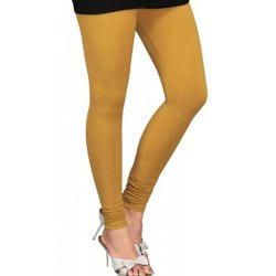 Straight Fit Plain Casual Wear Ladies Leggings, Size: Free Size